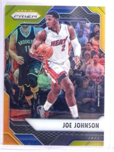 2016-17 Panini Prizm Prizms Gold Refractor Joe Johnson #D05/10 #105 *64256
