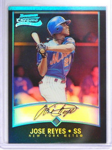 2001 Bowman Chrome Refractor Jose Reyes rc rookie #164 *40545