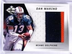 2013 Panini Limited Dan Marino jumbo 3 color patch #D22/25 #3 *57408