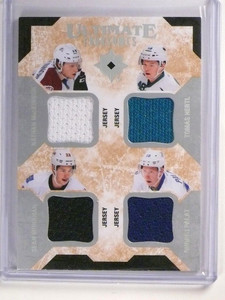 14-15 Ultimate Collection Foursome Nathan Mackinnon Monahan Hertl jersey *51858