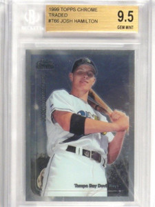 1999 Topps Chrome Traded Josh Hamilton rc rookie #T66 BGS 9.5 GEM MINT *36409