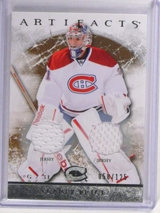 2012-13 UD Artifacts Carey Price Double Dual Jersey #D058/125 #102 *51534