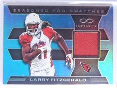 2016 Infinity Seasoned Pro Swatches Larry Fitzgerald Jersey #D70/88 #SPLF *65870