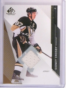 2014-15 SP Game Used Hockey Sidney Crosby Jersey #8 Penguins *50854