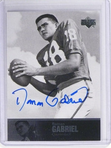 2011 Upper Deck College Football Legends Roman Gabriel Autograph Auto #12 *49740
