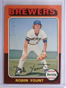 1975 Topps Robin Yount rc rookie #238 VG-EX *55930