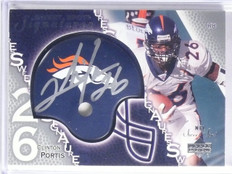 2003 UD Sweet Spot Signatures Clinton Portis Rookie Autograph auto #SSPO *65774