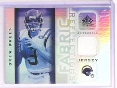 2005 UD Reflections Drew Brees Jersey #FRDB *67138