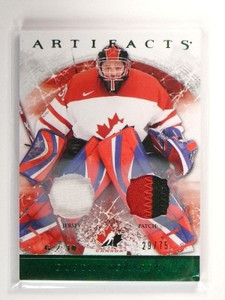12-13 Upper Deck Artifacts Dustin Tokarski 2clr patch jersey #D29/75 #139 *47437