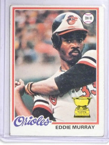 1978 Topps Eddie Murray Rookie RC #36 VG-EX *60637