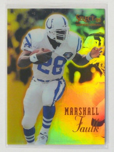 1995 Select Certified Mirror Gold Marshall Faulk #1 *38642