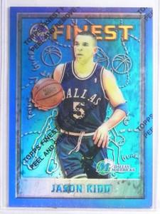 1995-96 Topps Finest Refractor Jason Kidd #5 *65957