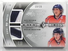 11-12 SPX Winning Combos Alex Ovechkin & Nicklas Backstrom patch #D13/15 *42291