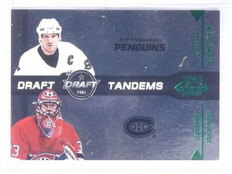 2010-11 Playoff Contenders Draft Tandems Green Mario Lemieux Roy #D47/50 #5 *587