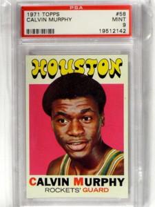 1971 Topps Clavin Murphy #58 PSA 9 MINT *39393