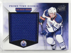 11-12 Panini Prime time Rookie Ryan Nugent-Hopkins rc jersey #D70/99 #1 *37274