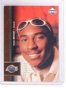 96-97 Upper Deck Kobe Bryant rc rookie #58 *52959