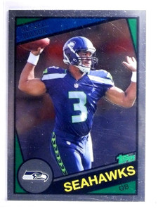 2012 Topps Chrome 1984 Russell Wilson Rookie RC #14 *62549