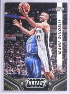 2014-15 Panini Threads Century Proof Gold Manu Ginobili #D02/25 #124 *65939
