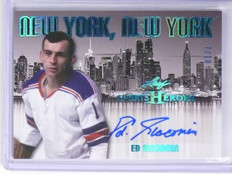 2016 Leaf Sports Heroes New York Ed Giacomin autograph auto #D7/10 *55933
