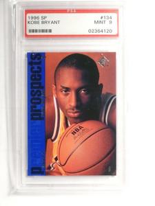 96-97 SP Kobe Bryant rc rookie #134 PSA 9 MINT *52091