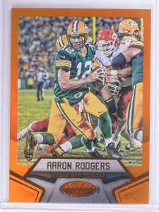 2016 Certified Mirror Orange Aaron Rodgers #D126/225 #4 *62825
