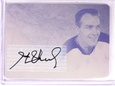 2015 Leaf Ultimate Hockey Henri Richard 1/1 Printing Plate Magenta #HMHR1 *54592