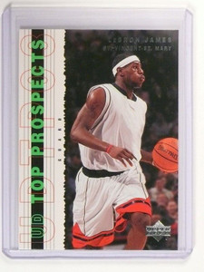 2003-04 Upper Deck Top Prospects LeBron James rc rookie #55 *46979