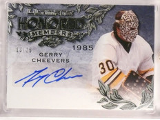 2015-16 Leaf Ultimate Honored Members Gerry Cheevers autograph #D13/25 *53276