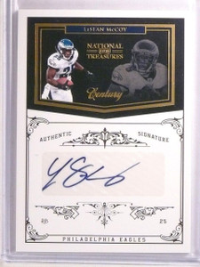 2011 National Treasures Century Gold LeSean McCoy Autograph #D1/5 #114 *66816