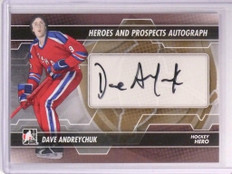 2014 In The Game Dave Andreychuk Heroes Prospects Autograph Auto #A-DAN *50856