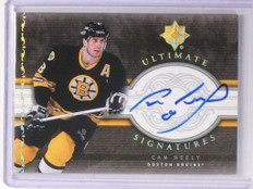 06-07 Ultimate Collection Signatures Cam Neely autograph auto #US-CN *48822