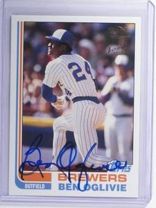 2004 Topps Fan Favorites Ben Ovlivie autograph auto #FFA-BG *47919