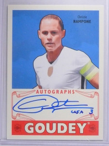 2016 Upper Deck Goodwin Champions Goudey Christie Rampone Autograph #GACR  *6216