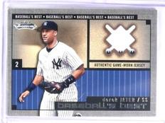 2002 Fleer Showcase Baseball's Best Derek Jeter Jersey #1 *58028