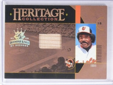 2005 Diamond Kings Heritage Collection Eddie Murray Bat #D078/100 #HC10 *65012