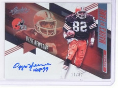 2016 Panini Absolute Marks Of Fame Ozzie Newsome Autograph #D17/82 #22 *58799