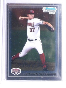 2010 Bowman Chrome Prospects Stephen Strasburg Rookie RC #BCP1 *66083