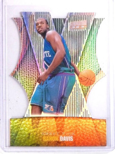 1999-00 Topps Stadium Club 3x3 Luminescent Baron Davis Rookie RC #10b *66653