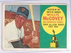 1960 Topps Willie McCovey Rookie RC #316 VG *64032