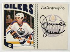 04-05 ITG Franchise Canadien Dave Hunter auto autograph #A-DVH *29037