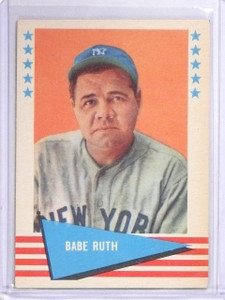 1961 Fleer Babe Ruth #75 EX *60534