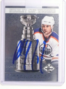12-13 Limited Stanley Cup Winners Paul Coffey autograph auto #D42/99 #SC-5 *5234