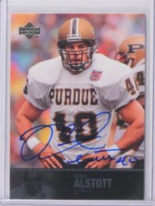 2011 Upper Deck College Legends Mike Alstott auto autograph #15 *36910