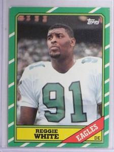 1986 Topps Reggie White Rookie RC #275  *60797