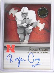 2008 Press Pass Legends Roger Craig auto autograph #D32/98 #SS-RC *33839