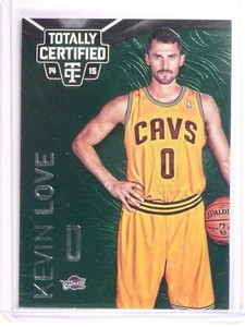 14-15 Panini Totally Certified Mirror Emerald Green Kevin Love #D2/5 *50623
