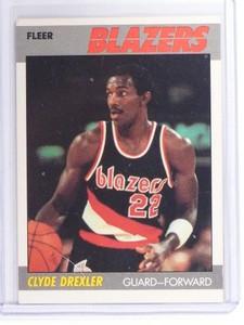 1987-88 Fleer Clyde Drexler #30 Blazers *49804