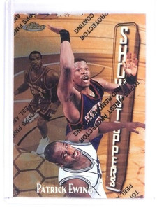 1997-98 Topps Finest Patrick Ewing  #315  Rare *49737