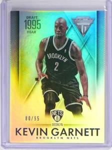 2013-14 Panini Titanium Kevin Garnett 1995 Draft Year #D80/95 #153 *49673